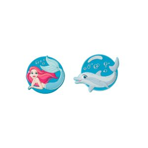 Patches Mermaid & Dolphin